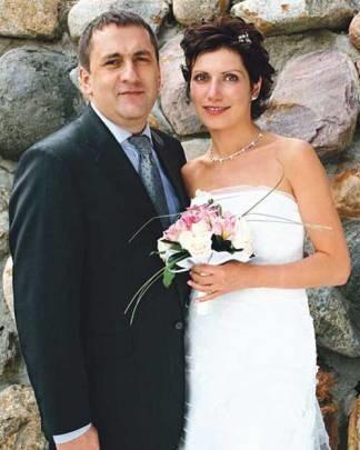 Светлана Зейналова с первым мужем Алексеем Глазатовым фото