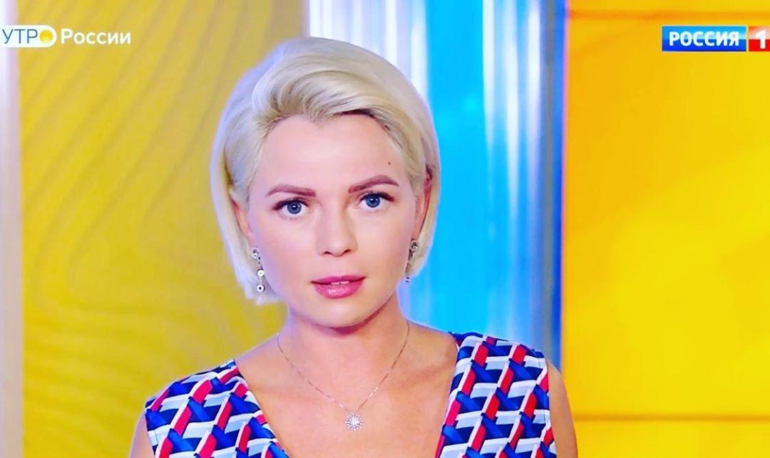 Телеведущая «Утро России» Елена Николаева