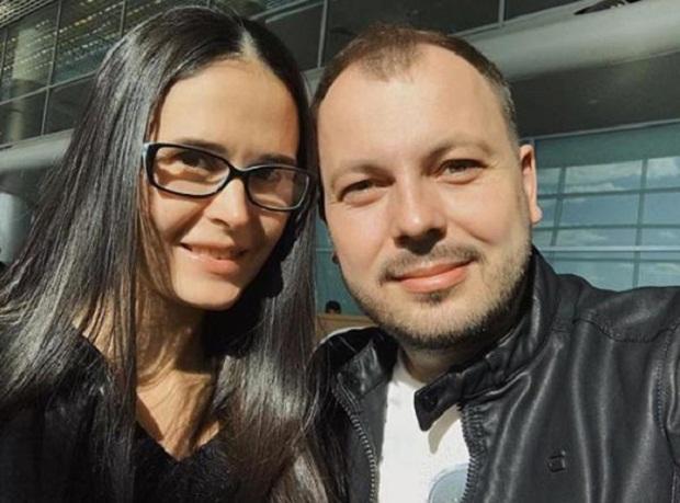 Ярослав Сумишевский с женой Натальей фото
