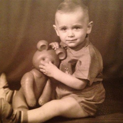 Петр Дранга в детстве