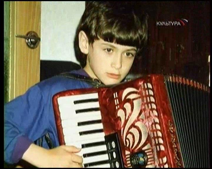 Петр Дранга в детские годы