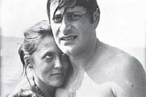 Валентин Смирнитский со второй женой Ириной