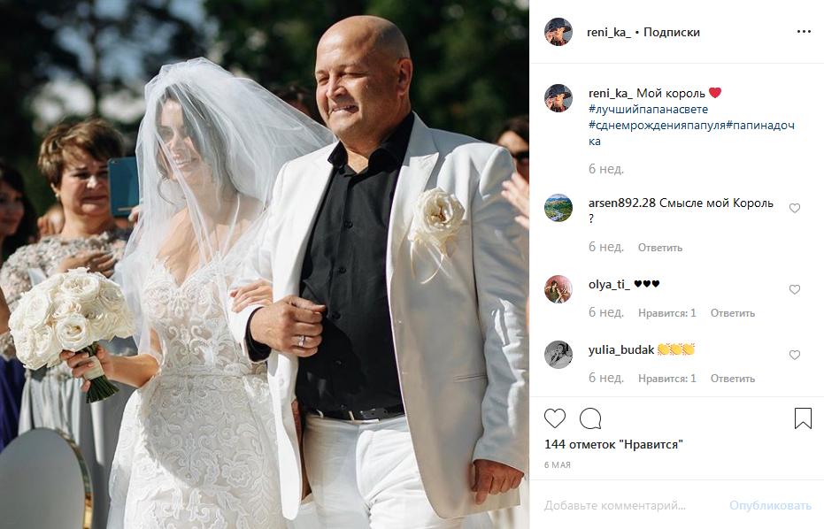 Рената Камалова с отцом фото