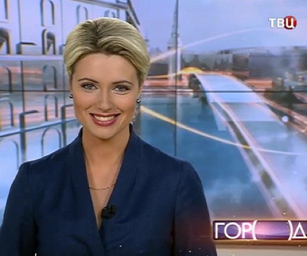 Телеведущая на каналах НТВ и ТВ ЦЕНТР Ольга Жук