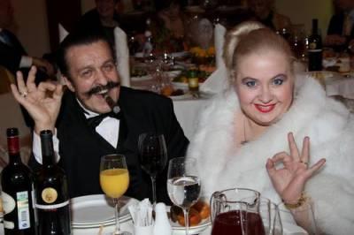 Вилли Токарев с женой