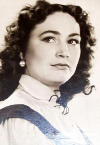 Людмила Хитяева в молодости фото