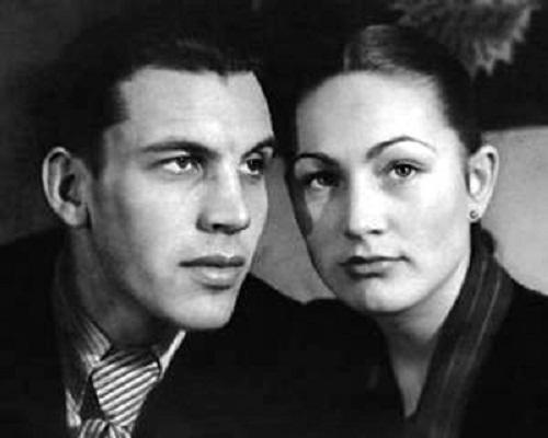 Людмила Хитяева с первым мужем