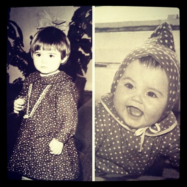 Лейсан Гимаева в детстве