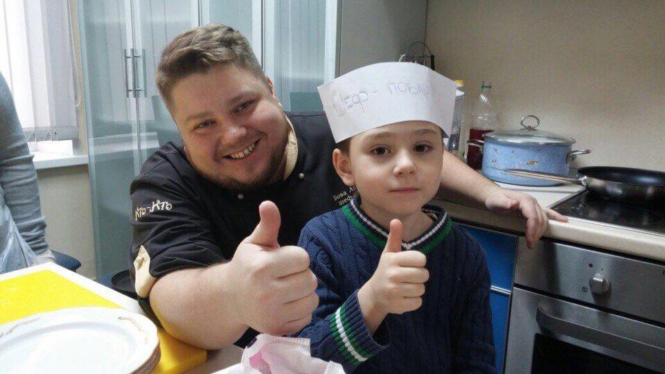 Андрей Бова с племянником