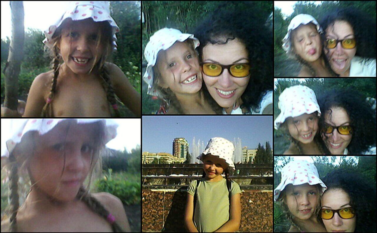 Жанна Оганесян с дочерью