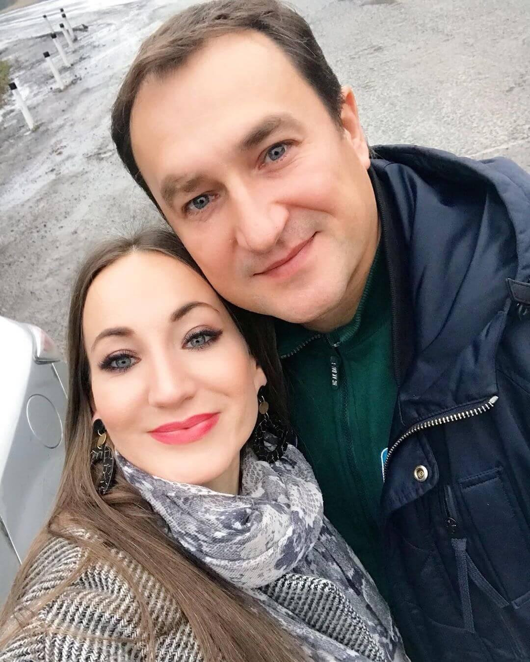 Диля Нигматуллина с мужем