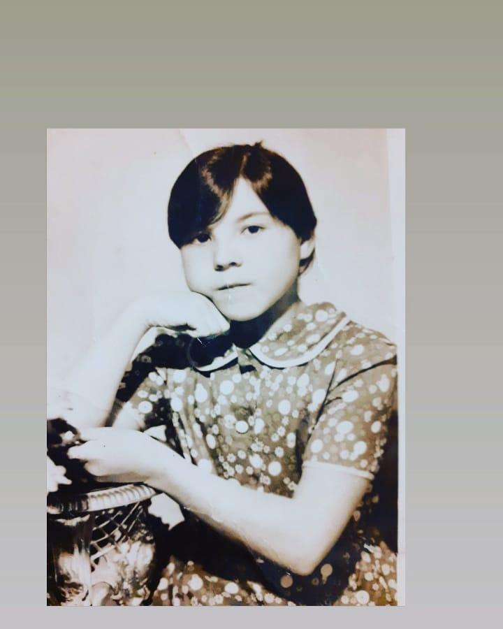 Гульфина Хамитова в детстве