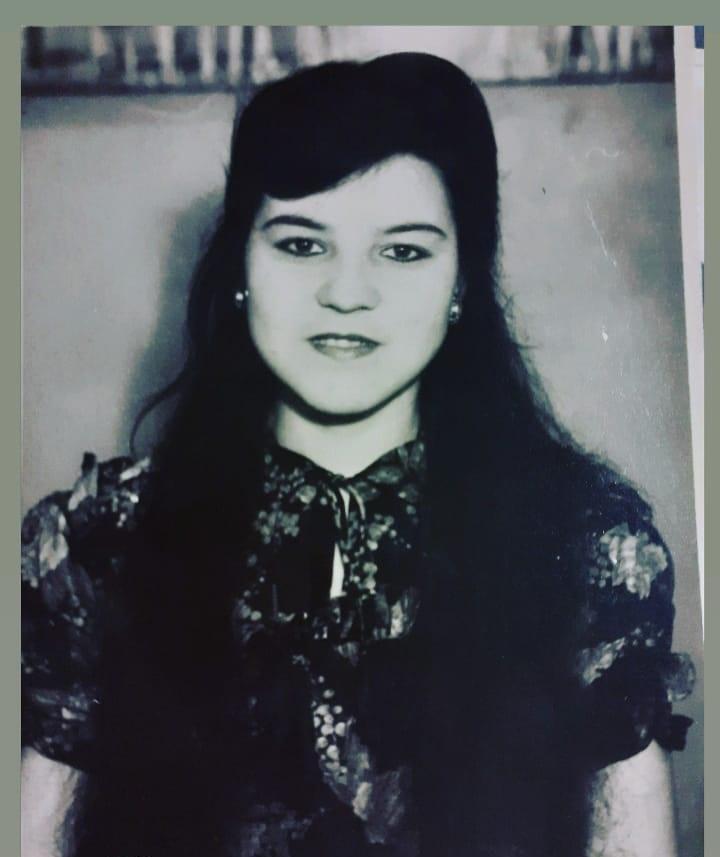 Гульфина Хамитова в молодости