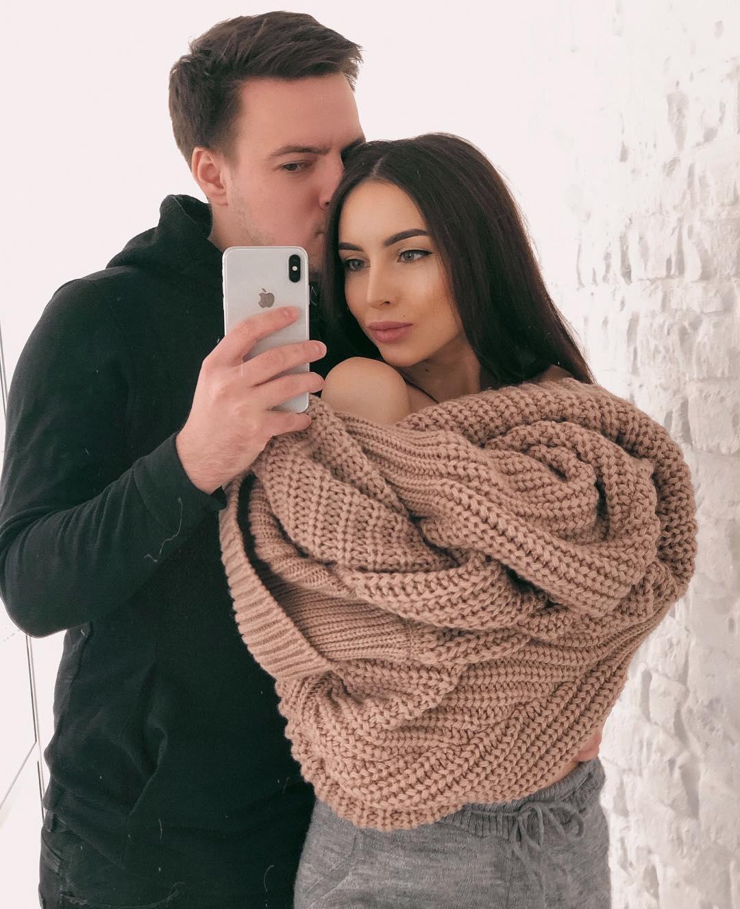 Ольга Балясная с мужем