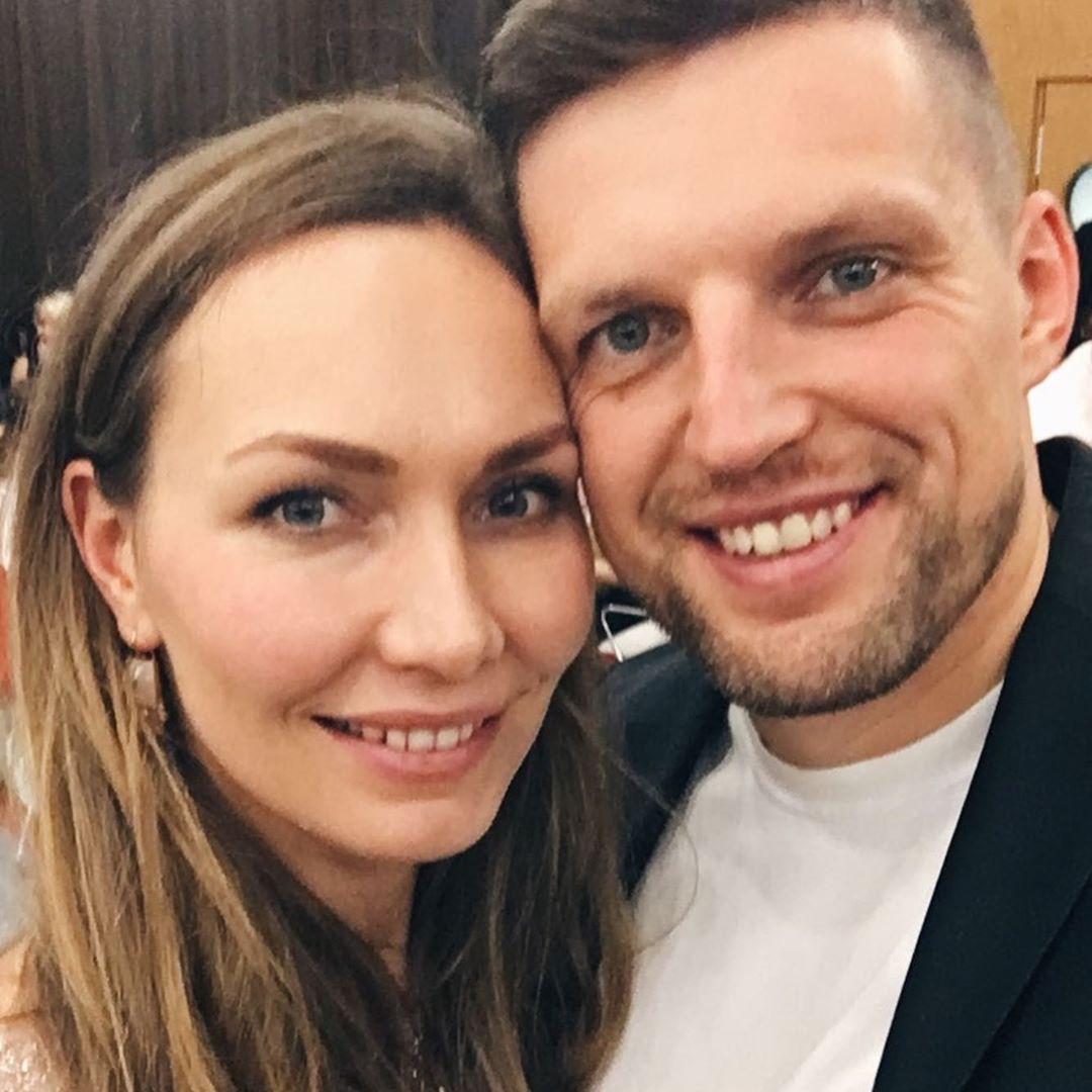 Павел Багрянцев с женой