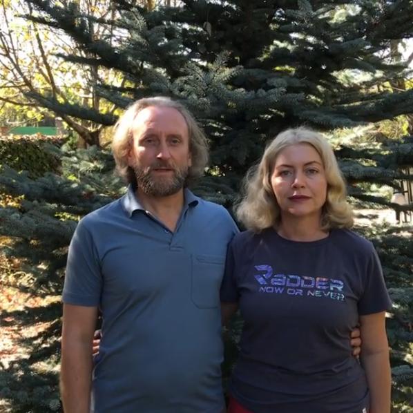 Валерий Синельников с женой