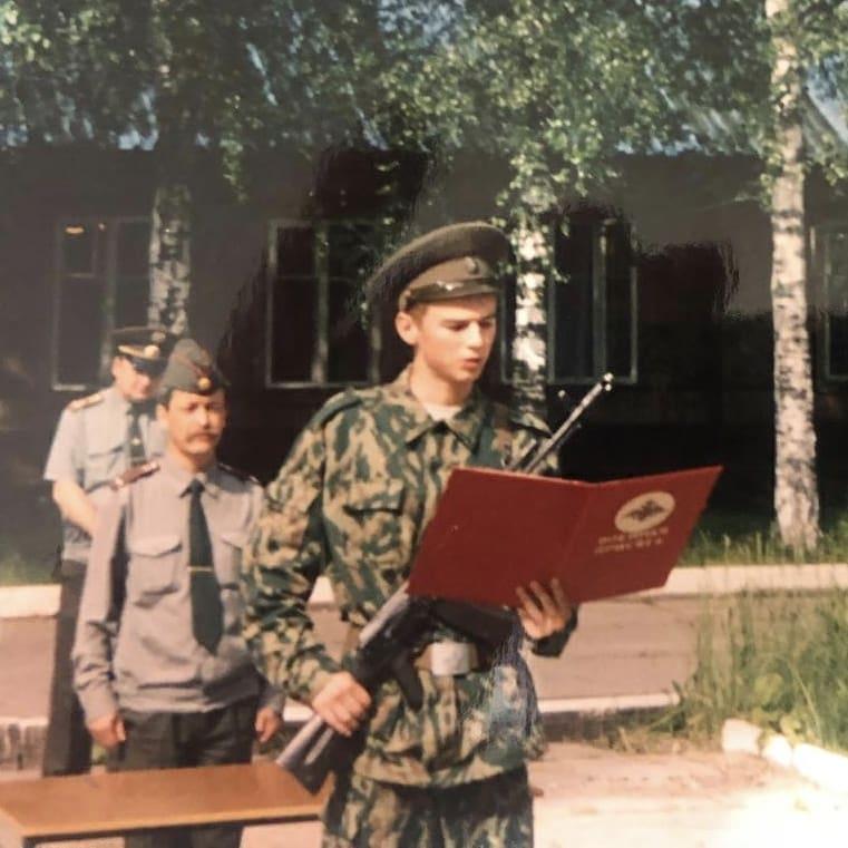 Владимир Якуба армия