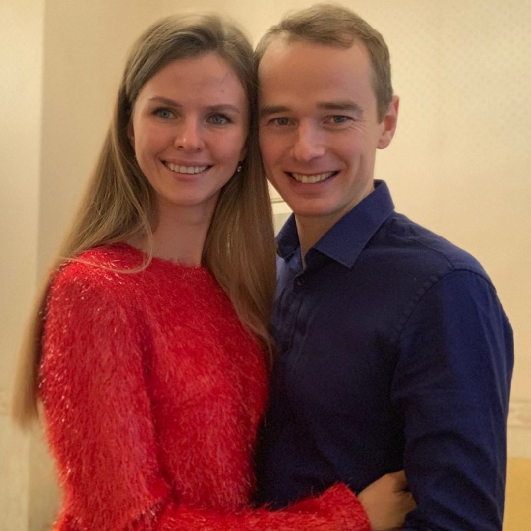Владимир Якуба с женой