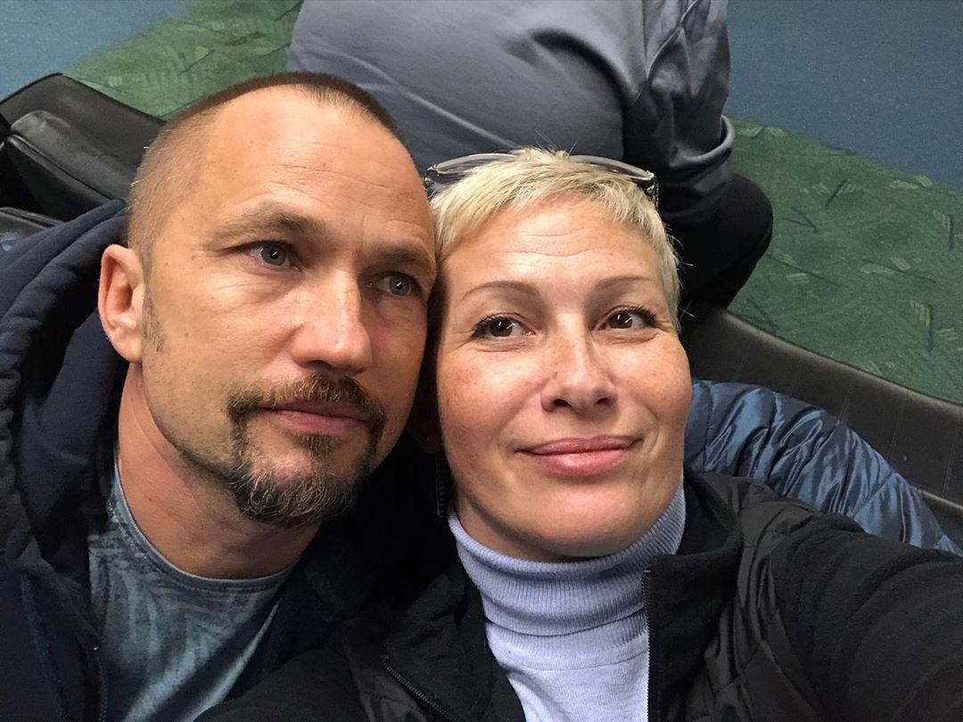 Нина Рубштейн с мужем