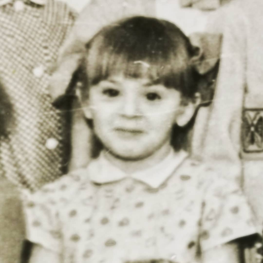 Светлана Казина в детстве
