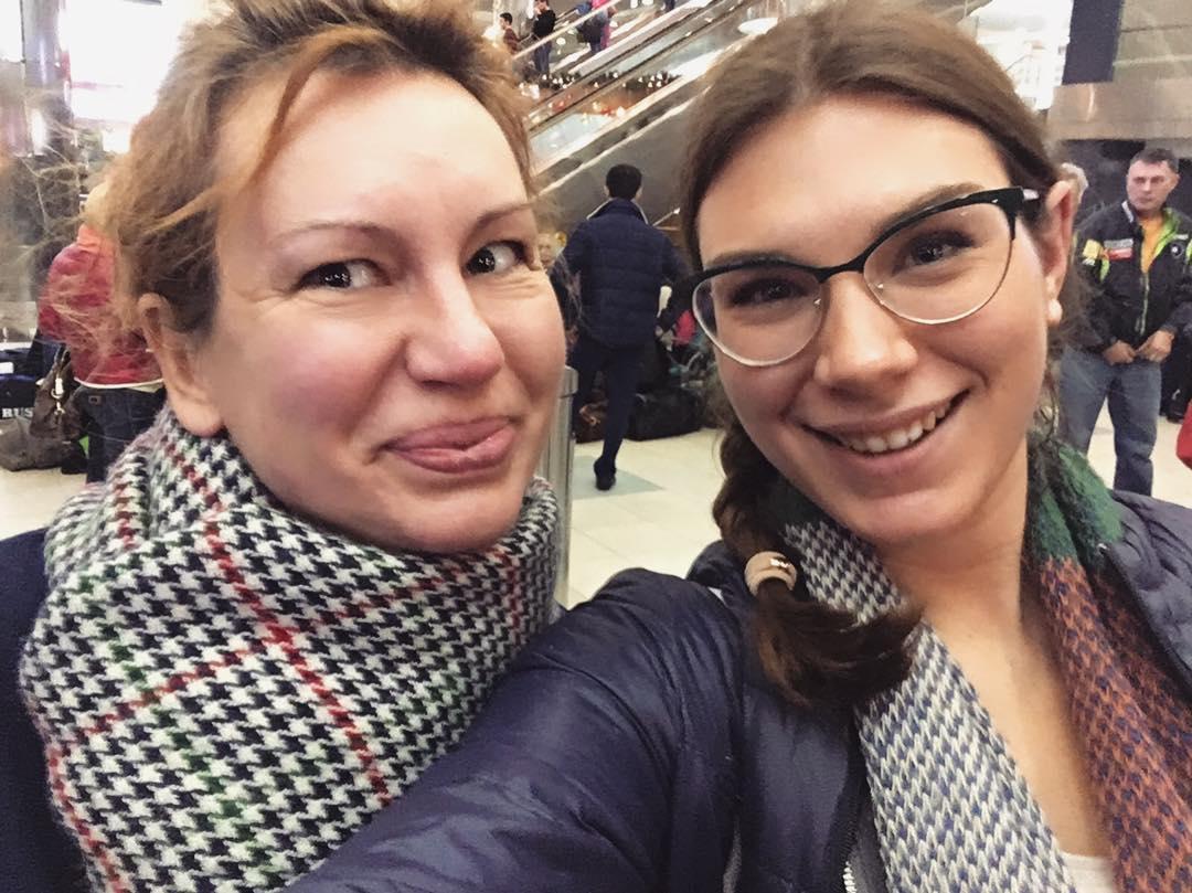 Анна Сочина с мамой