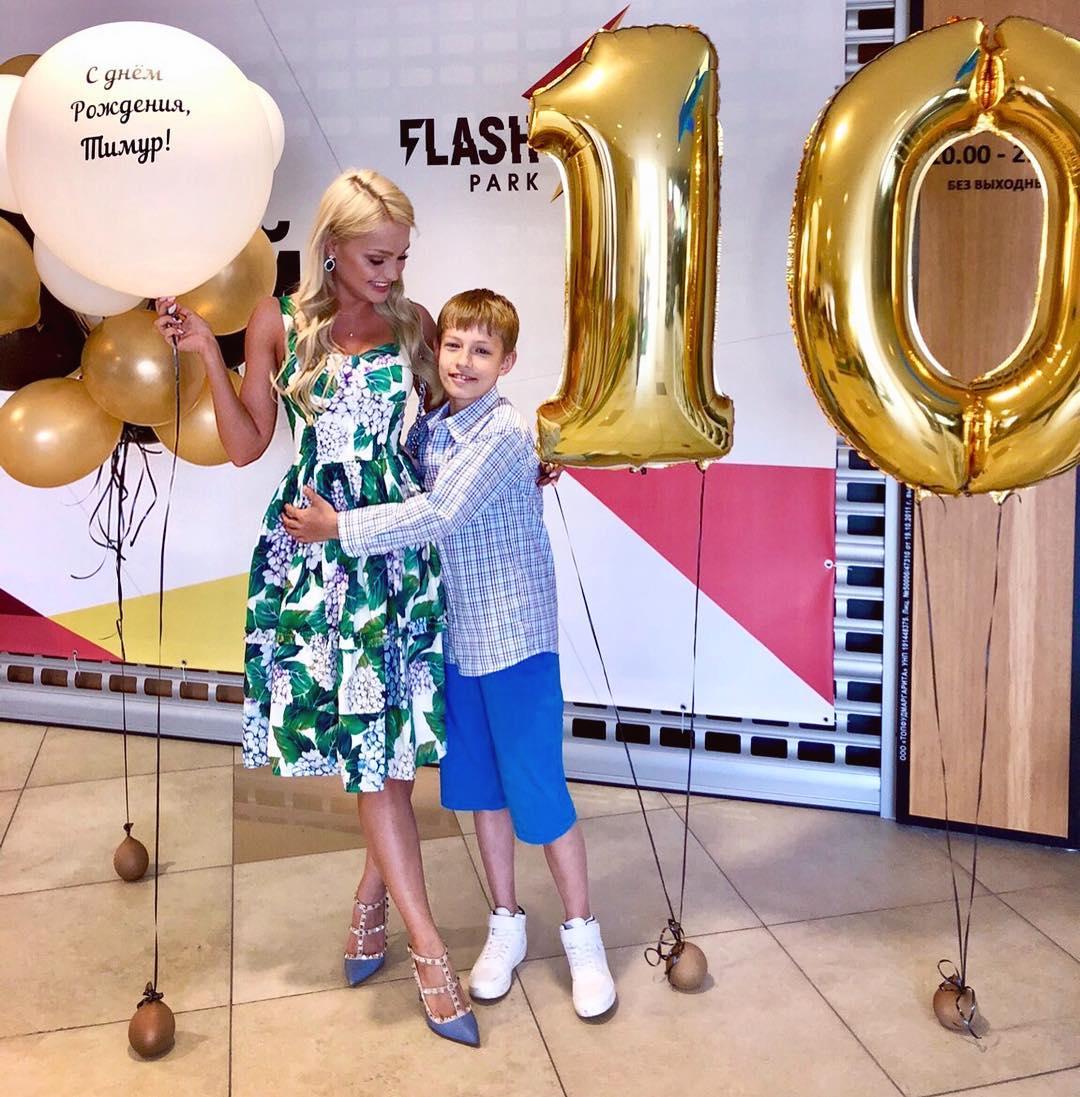 Екатерина Коба с сыном
