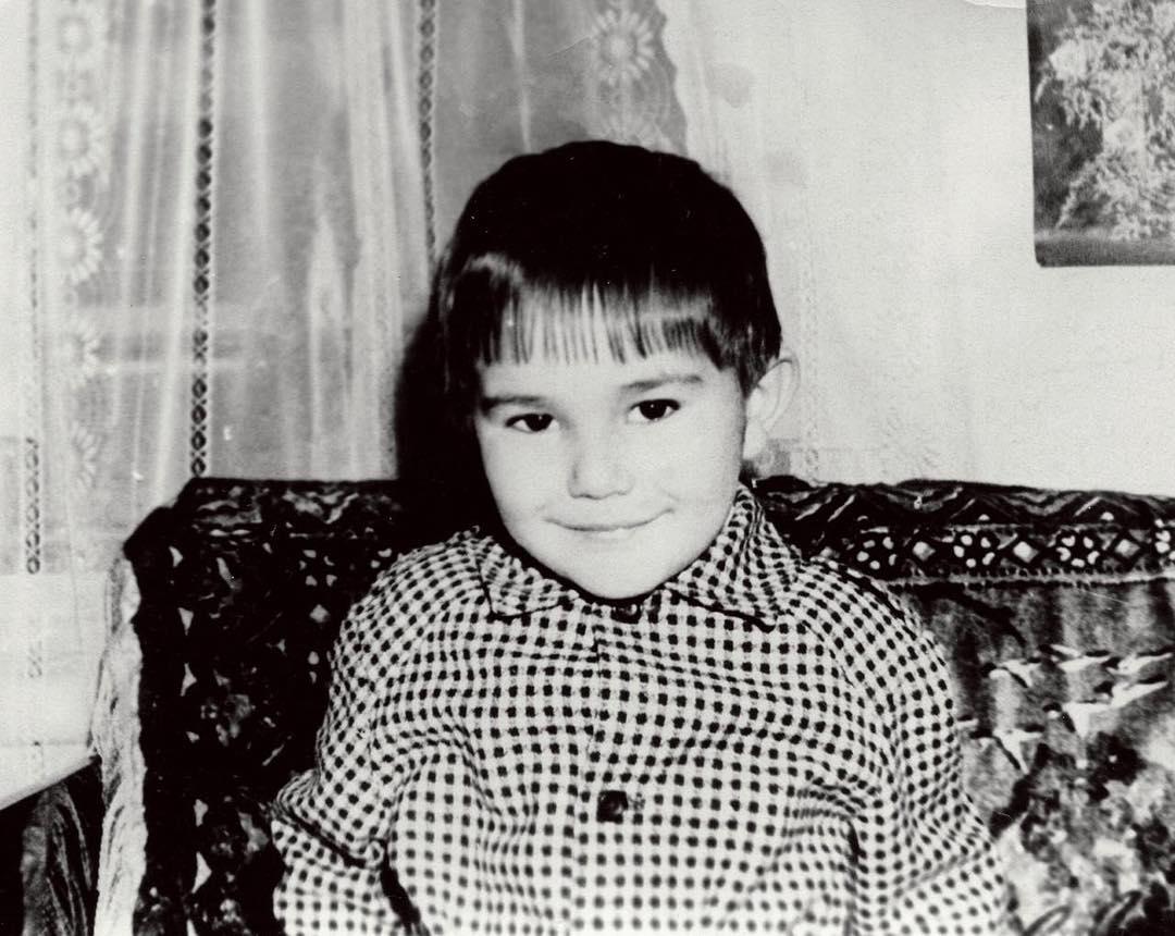 Ильшат Яппаров в детстве