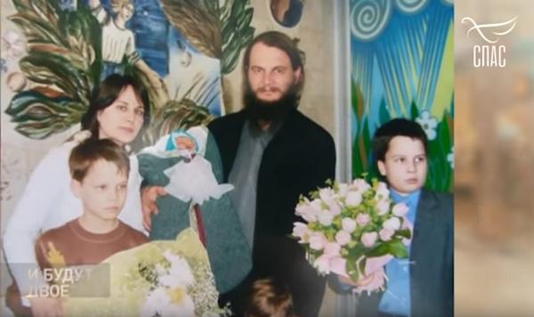 Игорь Фомин с семьей