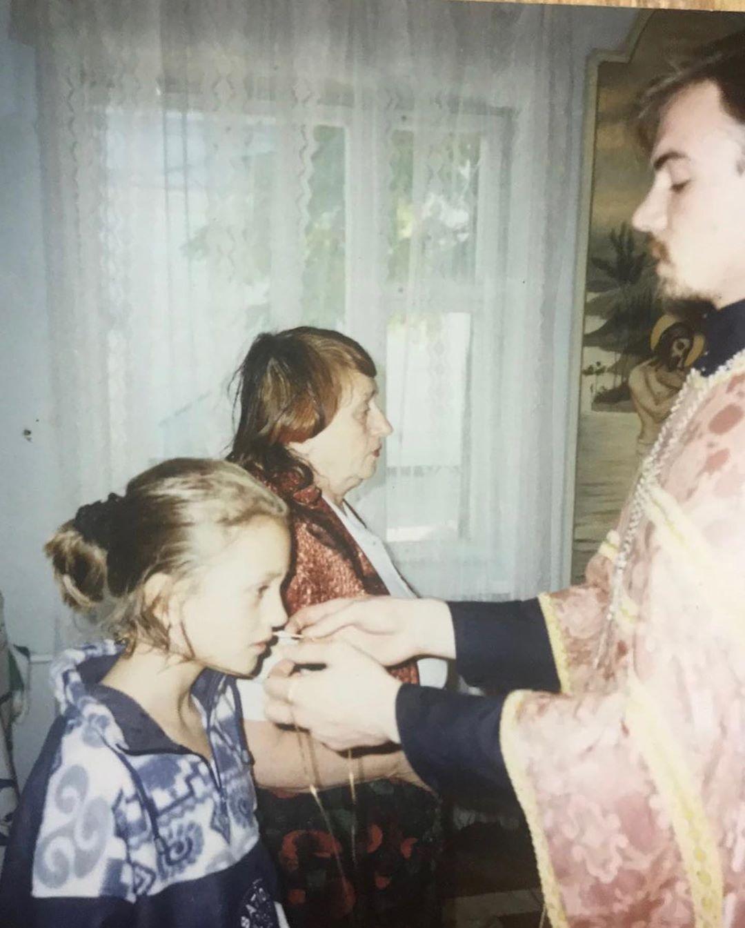 Ксения Бурда с бабушкой