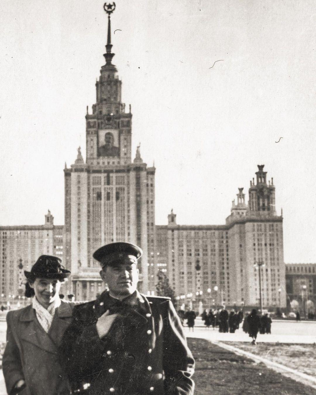 Марина Мелия ее родители в молодости