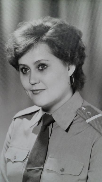 Татьяна Новикова в молодости