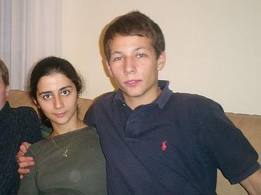 Альбина Ицхоки с мужем в молодости