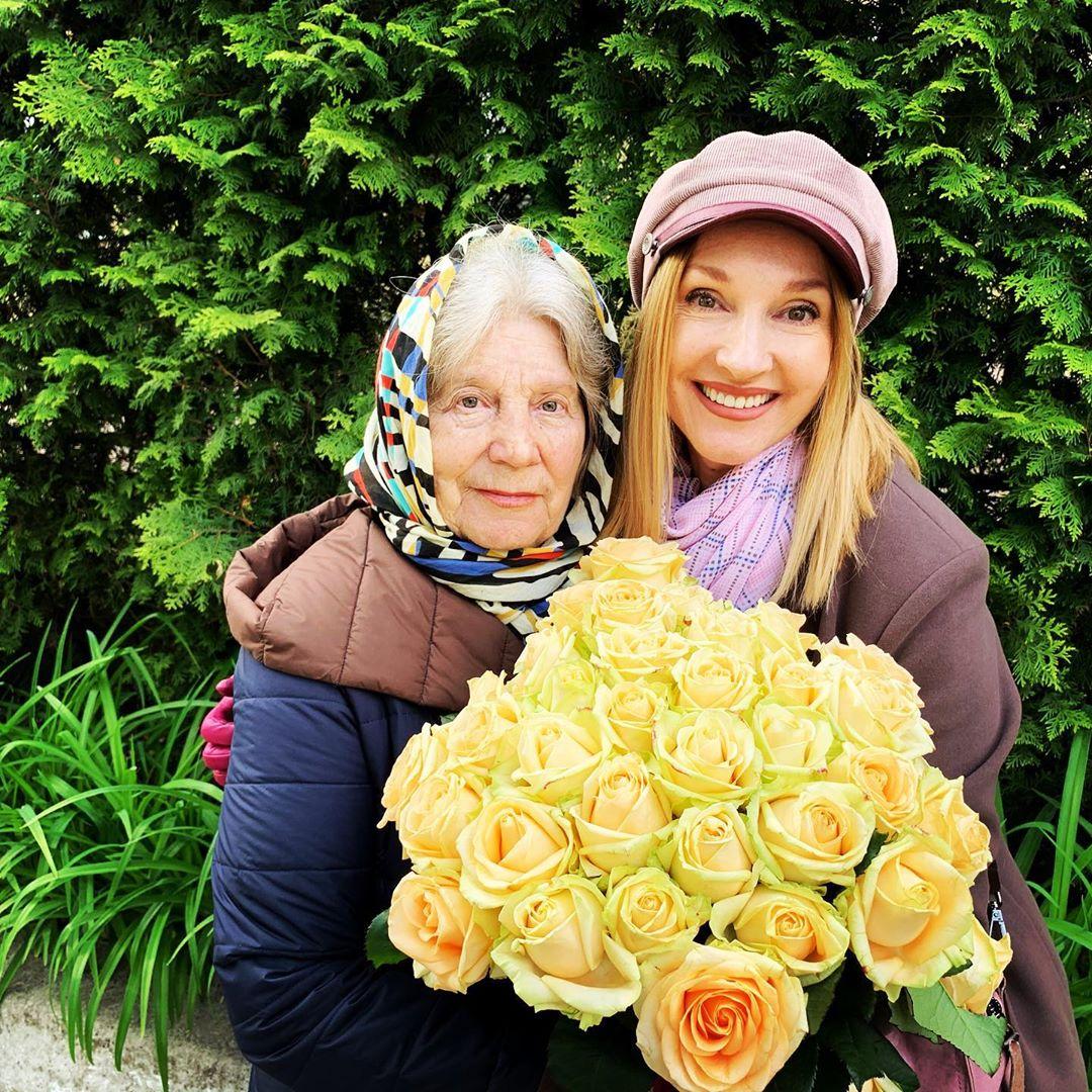 Людмила Ардельян с мамой