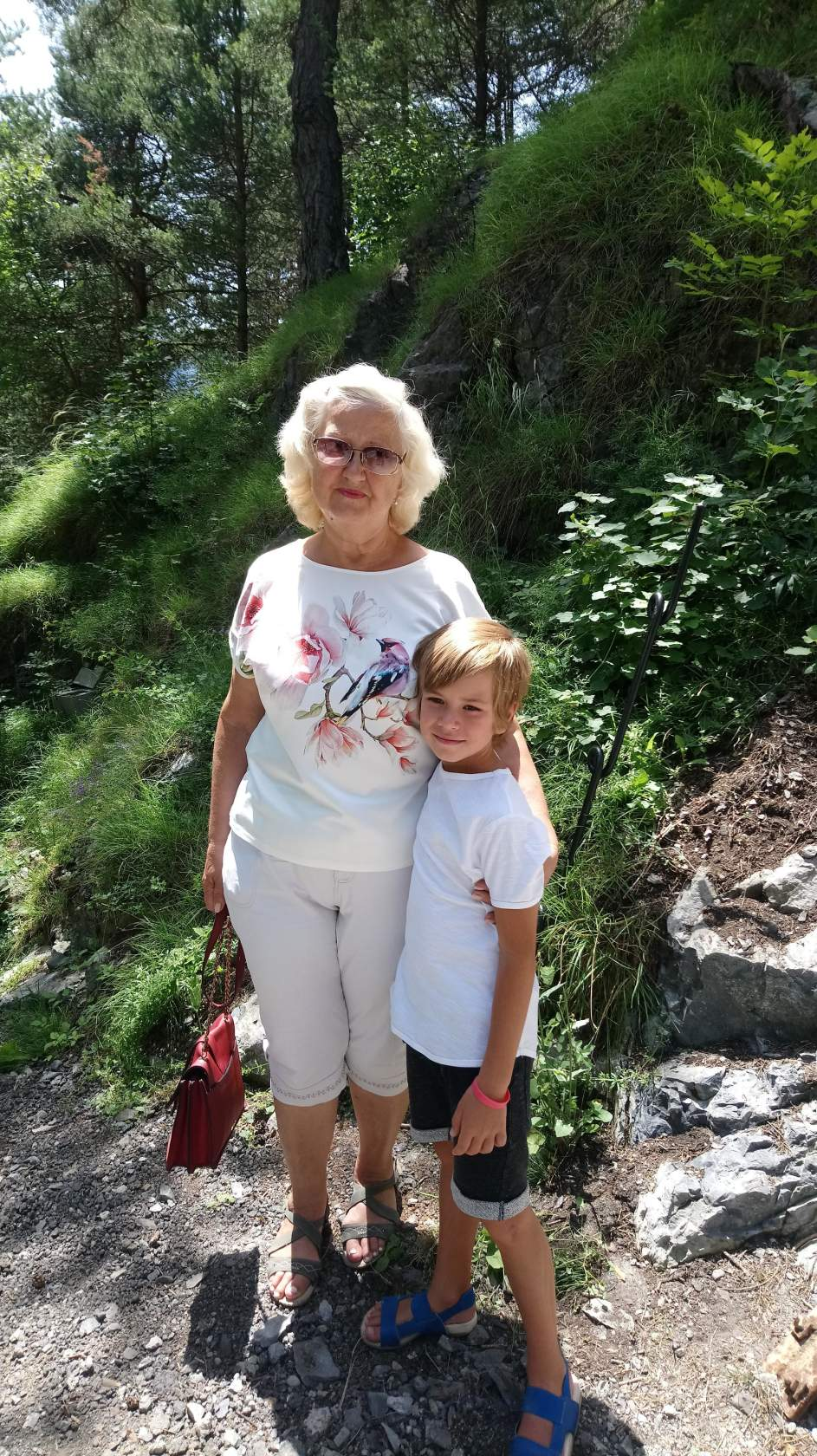 Татьяна Субботина с внуком