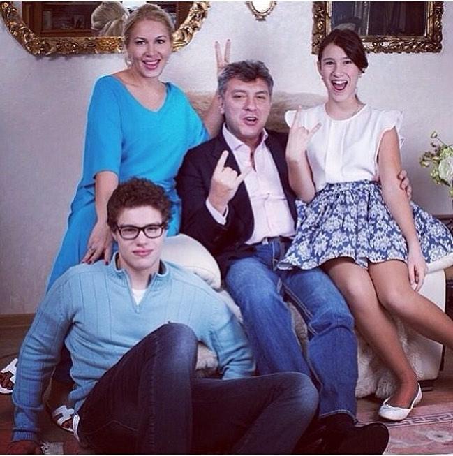 семья Немцовых