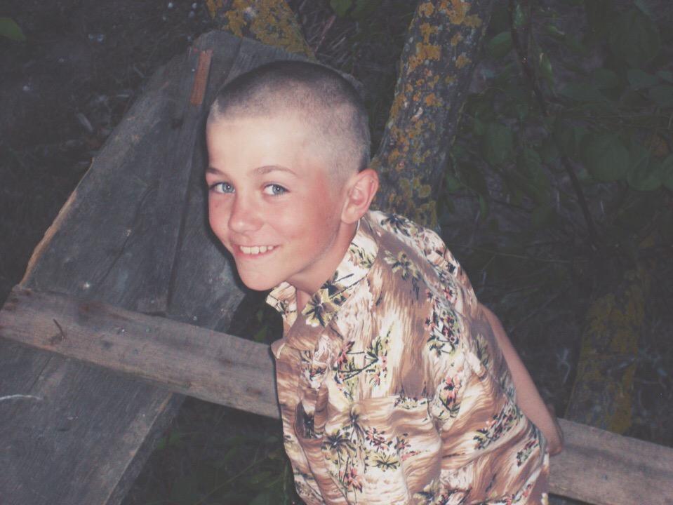 Иван Соловьев в детстве