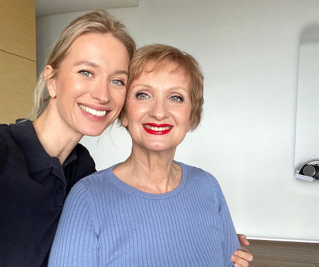 Ольга Фокс с мамой