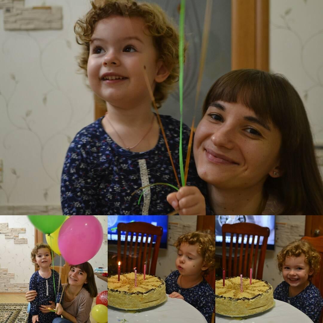 Ольга Шобутинская с дочерью