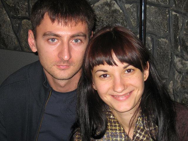 Ольга Шобутинская с мужем