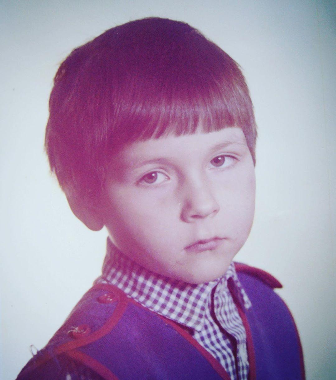 Сергей Розанов в детстве