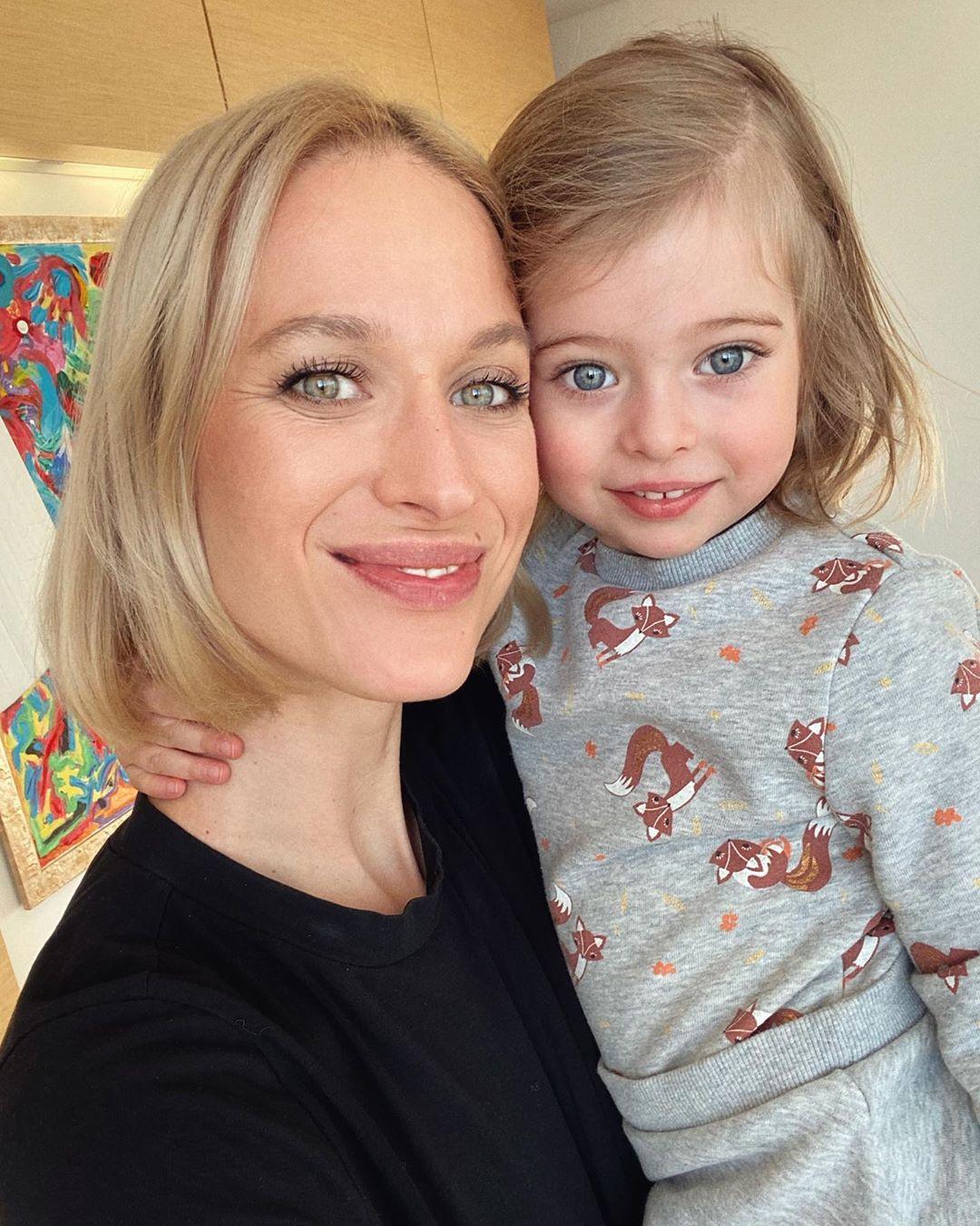 Ольга Фокс с дочерью