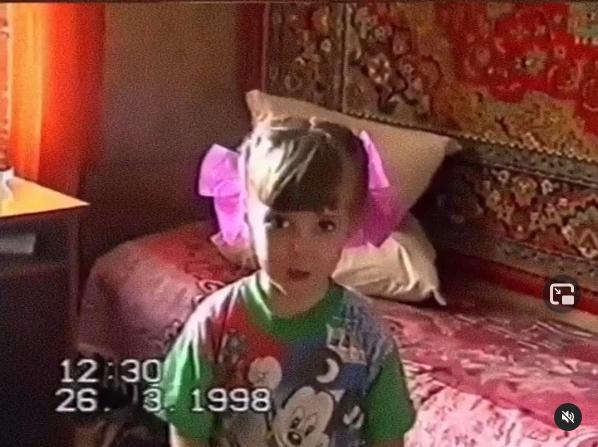 Наталья Веретенникова в детстве